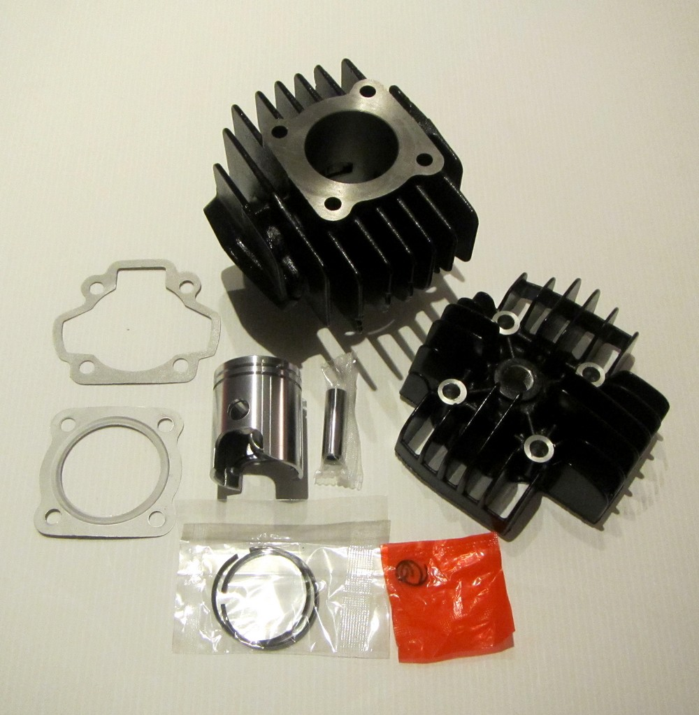 kit cylindre piston culasse joints pour yamaha 50pw